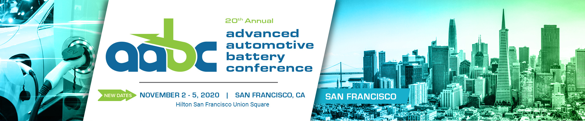 Advanced Automotive Battery Conference - June 8-11, 2020 - San Francisco, CA