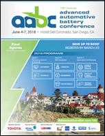 2018 Advanced Automotive Battery Conference USA Brochure