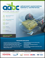 Advanced Automotive Battery Conference US 2016